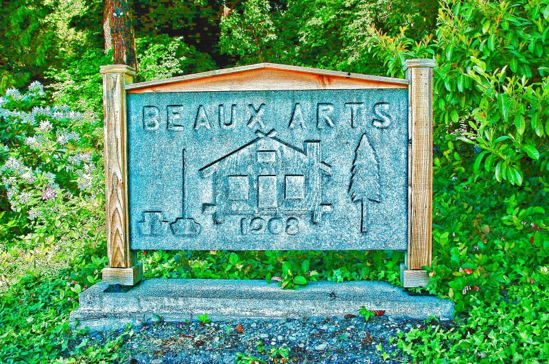 Beaux Arts sign